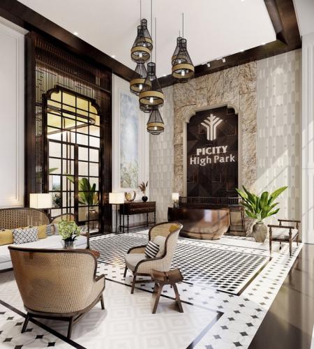 Căn hộ resort phong cách kiến trúc Indochine đã xuất hiện tại quận 12